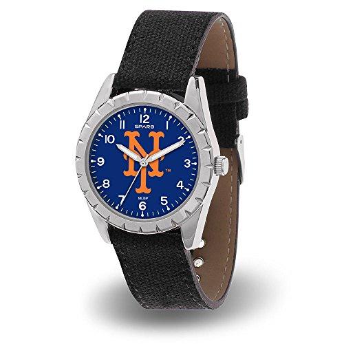 MLB 纽约大都会队镍男式闪耀运动手表
