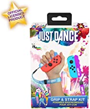 Just Dance 2019 – 抓握带背包 – 符合人体工程学的舒适手柄,任天堂 Switch JoyCon 控制器,蓝色和紫色