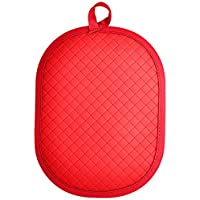 Rachael Ray AM6009 Pot Holder With Silicone Grip, Red