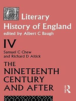 """A Literary History of England Vol. 4 (English Edition)"",作者:[Baugh, A]"