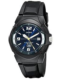 Casio 卡西欧男式 MW600F-2AV 模拟显示黑色石英手表