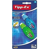 Tipp-Ex 修正带 Micro Tape Twist 2 Stück blau/grün und rot/lila