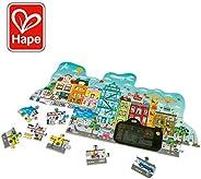 Hape E1629 动画城市,探险家拼图,3岁以上