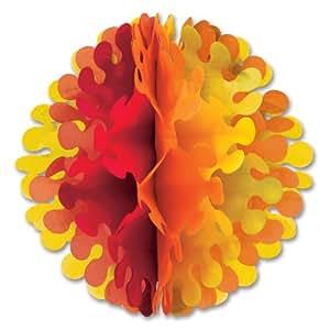 Beistle 1-Pack Tissue Flutter Ball, 14-Inch