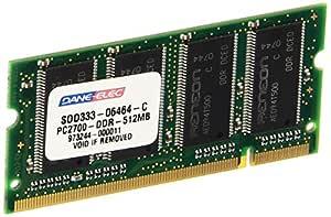 Dane - Elec S0D333-06464-C Notebook 512MB DDR PC2700 333MHz SODIMM