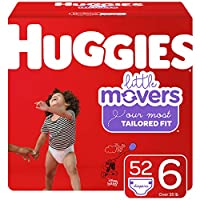 HUGGIES Little Movers 纸尿裤 NEW Giga Pack 6 52