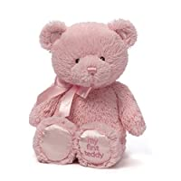 GUND My First Teddy Baby泰迪熊毛绒玩具 15 英寸(38.1厘米)
