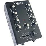 Ibiza Light&Sound MIX500 2 声道 DJ 调音台,配有声控,1 件