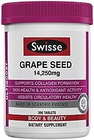 SWISSE Ultiboost葡萄籽补充剂 有效的抗氧化剂和维生素C | 300片