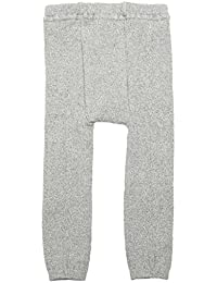Anna Nicola 混色罗纹编织风格紧身裤 7062 日本制造 浅灰色 95