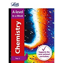Letts A-level Revision Success – A-level Chemistry Year 2 In a Week (English Edition)