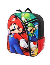 Trendy Apparel Shop Super Mario Bros 40.64cm 模制背包 反光条纹