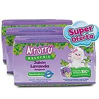 Arrurru 柔软舒缓皂/Jabon Relajante 3.52盎司(3包)