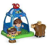 Fisher-Price Little People 去野营玩具套装
