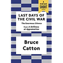 Last Days of the Civil War: The Enormous Silence (A Vintage Short) (English Edition)