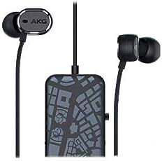 AKG 爱科技 N20 NC 耳机 入耳型/降噪 黑色 AKGN20NCBLK 【国内正規品】