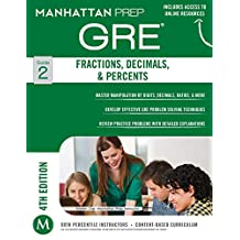 GRE Fractions, Decimals, & Percents (Manhattan Prep GRE Strategy Guides Book 2) (English Edition)
