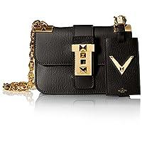 Valentino 女士链条肩带包,黑色