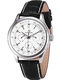 KS 帝国经典白色表盘日期天24小时手腕男式自动机械手表 ks096