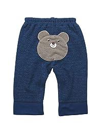 《秋冬对应》(日本制) BO-PEEP(男孩) 短款拼接呢子长裤NO.DP-83709 [対象] 12ヶ月 ~ NB 70