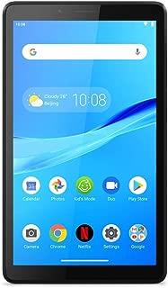 Lenovo 联想 Tab M7 17.8 厘米(7 英寸 SD IPS 触屏)平板电脑(MediaTek MT8321 四核,1GB 内存,16GB eMCP,Wi-Fi,Android 9,保护套)黑色
