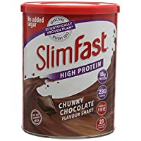 SlimFast 替代飲食奶昔Powder Shake Chunky巧克力 450g