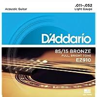 美国 d'addario Ej Daddario 木吉他弦85/ 15青铜 EZ 【国内正規品】 .011-.052 弦:1セット
