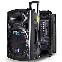 双诺 声美HJ-608 12英寸低音户外电瓶拉杆音箱