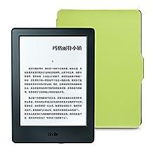 Kindle电子书阅读器 (入门版) + NuPro保护套超值套装(包含Kindle电子书阅读器入门版-黑、NuPro保护套-苹果绿)