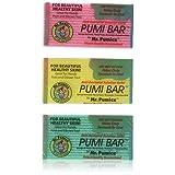 Mr. Pumice Pumi Bar (多色):中度磨砂膏,*石头和铅笔刷,光滑脚和高跟 每包6条