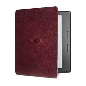 Kindle Oasis皮质充电保护套,波尔多红