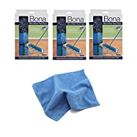 Bona 3 件式超细纤维垫套装 蓝色 3 689397674805