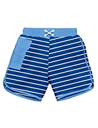 i play. Baby Boys' Pocket Board Shorts with Built-In Reusable Absorbent Swim Diaper