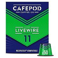 CAFEPOD Nespresso兼容Livewire咖啡膠囊 50個(3件-總共150個膠囊)