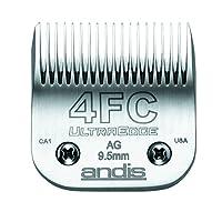 Andis 安狄斯 碳纖維鋼超刃小狗剪刀片,規格4fc,,切割長度3/8英寸(64123)