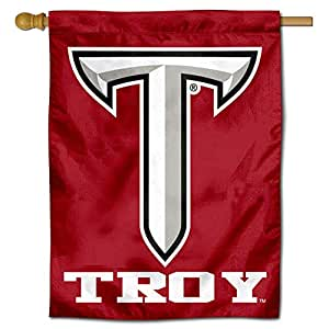 College Flags and Banners Co. Troy Trojans 双面居家旗