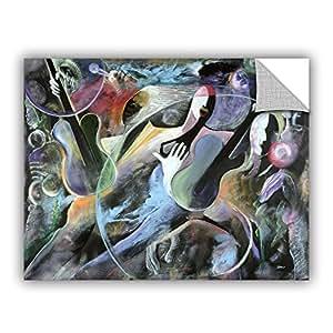 "ArtWall Ikahl Beckford's Jammin Art Appeelz Removable Graphic Wall Art, 18 x 24"""