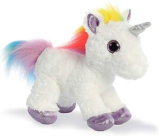 Aurora World 60857 Sparkle Tales Dazzle 独角兽软玩具,多种颜色,12 英寸