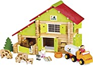 JEUJURA JeujuraJ8054 农场木质建筑套件(180 片)