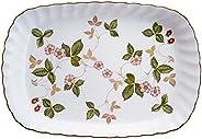 Wedgwood 野草莓系列 餐盘类产品 白色 スパイラルトレイ 50190706800