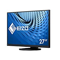 EIZO 艺卓 FlexScan 超薄显示器 EV2760-BK (68.5厘米/27英寸)(DVI-D,HDMI,USB 3.1集线器,DisplayPort,5ms响应时间,分辨率2560 x 1440),黑色