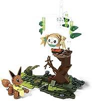 Mega Construx Pokemon Rowlet Vs.Eevee 积木套装