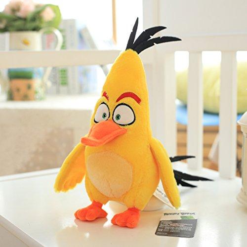 上花轿 aoger正版愤怒的小鸟公仔毛绒玩具鸟儿玩偶娃娃儿童节生日礼物