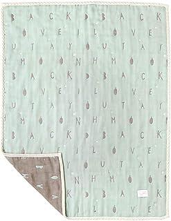 10mois 棉花×羊毛 松軟紗布(6層紗布) 寶寶毛毯 18251002