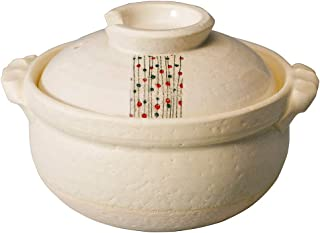 CtoC JAPAN Select 土锅 多重 5.5号 M0259 杂炊锅 白玉芥末 万古烧 日本制造 一套