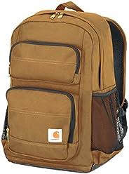 Carhartt 传统标准工作背包,搭配笔记本电脑套和平板电脑存储空间 ,Carhartt Brown,均码