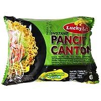 Lucky Me! Instant Kalamansi Pancit Canton Noodles, 60 g, Pack of 24