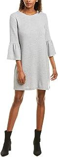 FRENCH connection 女式苏丹石盖袖修身喇叭连衣裙
