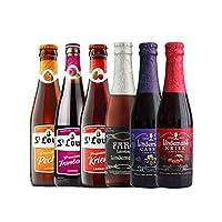 女士果味啤酒 比利时进口 圣路易 林德曼组合 250ml*6瓶 (果味啤酒组合)