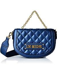 Love Moschino 女士绗缝 Nappa PU 手腕包